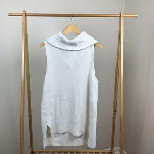 Lou & Grey pd Sleeveless Cowl Tunic Sweater